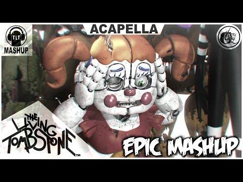 "FNAF 1-5 ""EPIC MASHUP"" ACAPELLA VIDEO (TLT)"