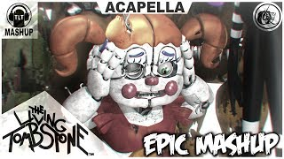"FNAF 1-5 ""EPIC MASHUP"" ACAPELLA VIDEO (TLT)"