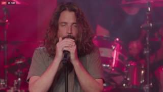 audioslave perform like a stone at the prophets of rage show 01202017