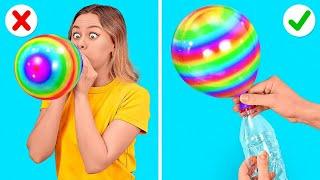 ¡ES HORA DE UNA FIESTA! || Trucos divertidos y prácticos para fiestas que no puedes perderte
