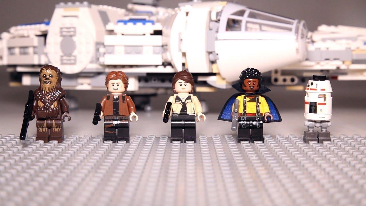 Lego Star Wars Minifigure Animation from set 75212 Kessel Run ...