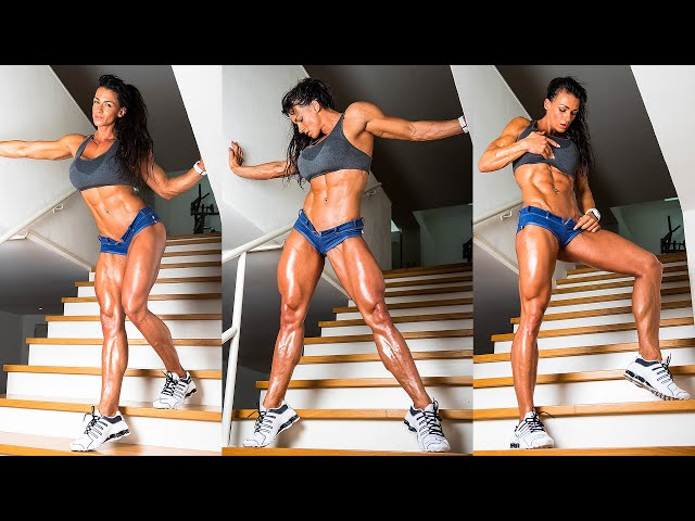High Intensity Interval Training HIIT using Sand Bags, Plyo Box and a Versa Climber | Cindy Landolt