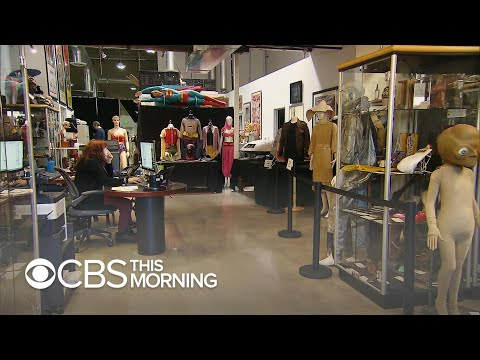Collection of iconic TV props, costumes up for auction