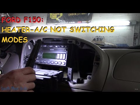 Ford F150: Heater Works On Defrost & Vent BUT NOT On Floor Or Max A/C