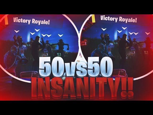 EPIC LND *NEW* 50 V 50 V2 FORTNITE 1V13 *VICTORY ROYALE*!!