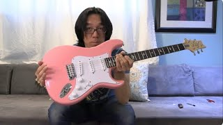 A Gift From JOHN MAYER - PRS Silver Sky ROXY PINK
