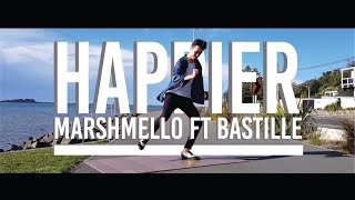 HAPPIER - Marshmello ft. Bastille | Dance Choreography Cover