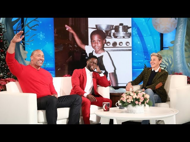 Dwayne Johnson Reveals Kevin Harts Awkward Teen Photo