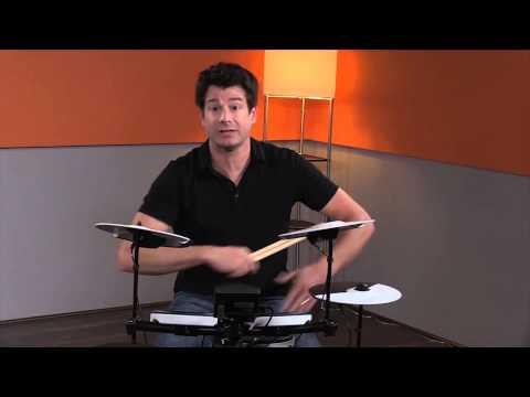 Roland TD-1K Entry Level V-Drum Electronic Drum Kit Demo   Full Compass