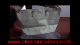 MICHAEL Michael Kors Jet Set Travel Logo Travel Tote Bag, Vanilla Thumbnail