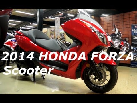 2014 HONDA FORZA 300 Scooter - Consumer Perspective