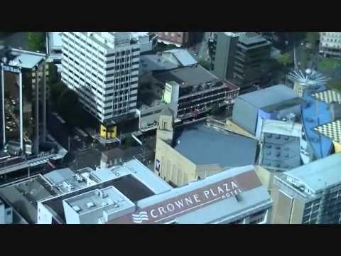 Auckland Skyline - New Zealand, Part 1