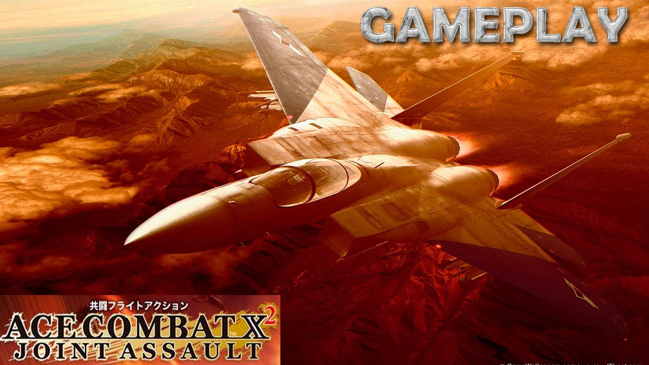 Ace Combat x2: Joint Assault - PSP - Gameplay - ¡Aviones ...