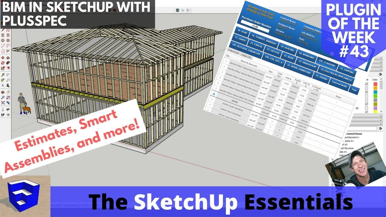 Free roof extension sketchup