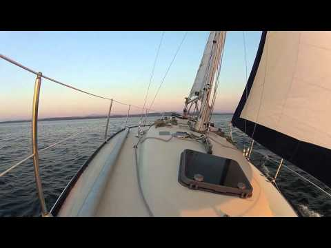 GoPro Test:  Sailing on Lake Champlain