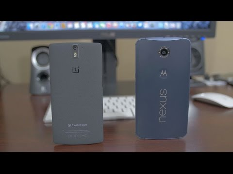 Nexus 6 vs OnePlus One - Dogfight!