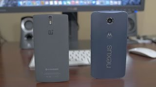 Nexus 6 vs OnePlus One - Dogfight!
