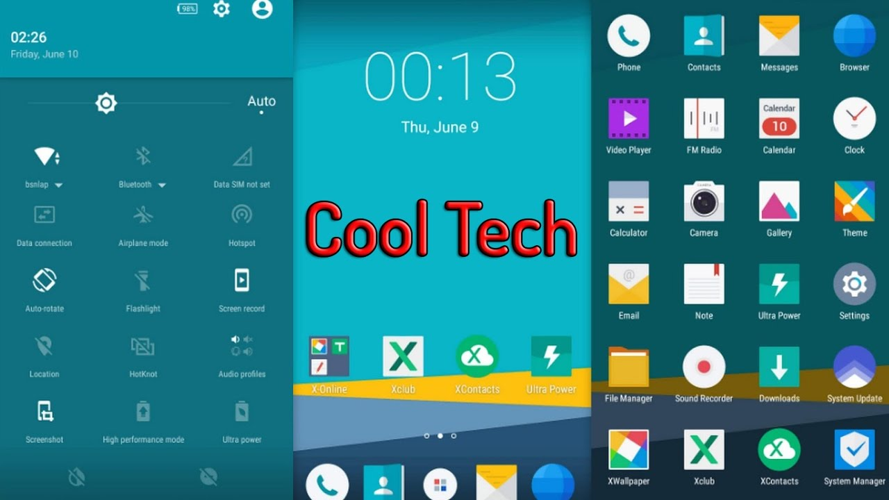 How To Get Free Themes In Coolpad Note 3 Marshmallow v22 Cool Ui8 Full  Tutorial