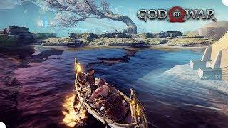 GOD OF WAR #14 - Alfheim e Contos de Kratos! (PS4 Pro Gameplay em Português PT BR)