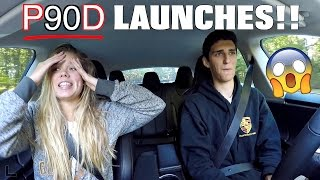 tesla model s p90d ludicrous launch reactions