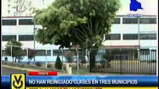 En Táchira no han reiniciado clases en 3 municipios por imposibilidad de acceso a las escuelas