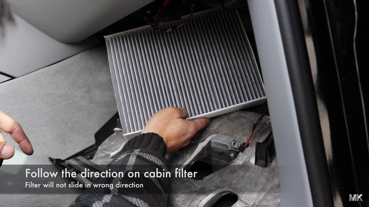 Porsche Cayenne How To Replace Cabin Filter Diy Youtube