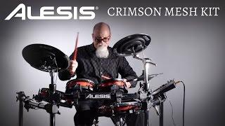 ALESIS : la batterie électronique CRIMSON MESH-KIT (vidéo de la boite noire)