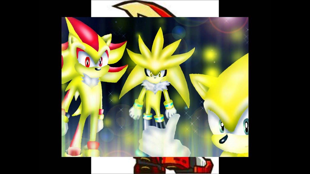 Mis Sonic The Hedgehog AMV Super Sonic Super Silver Y Super Shadow