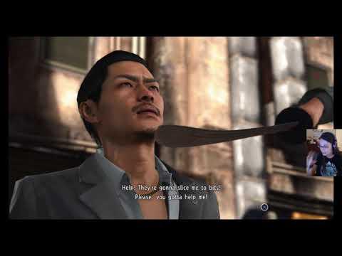 Let's Play Yakuza 6 (Part 10) More Chuugoku mafia