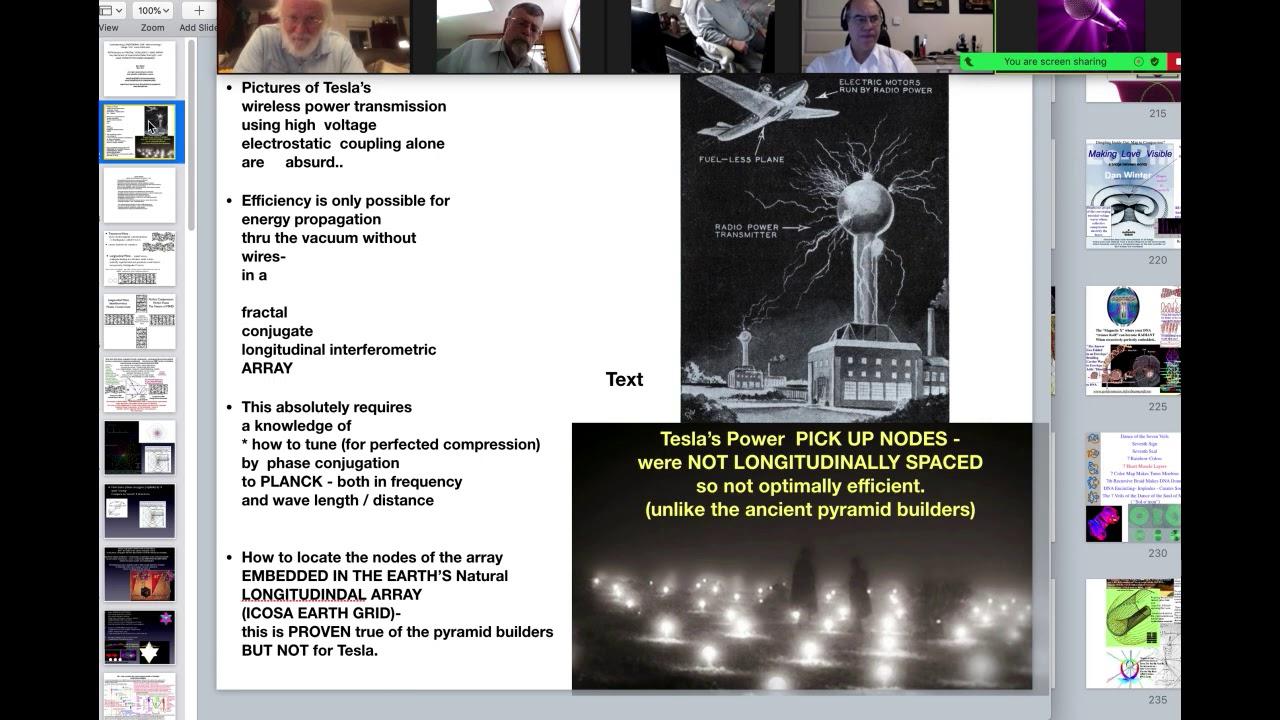 "Fractal Physics of Global Wireless Power, Vacuum Energy AND The ""Diamond Light Body""w/Dan Winter"