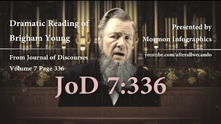 Brigham Young; The Native Americans will become White & Delightsome [JoD 7:336]
