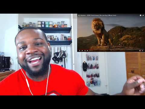 Beyoncé – SPIRIT From Disney's The Lion King Official Video Reaction