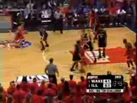 2004-2005: ILLINOIS 91, Wake Forest 73