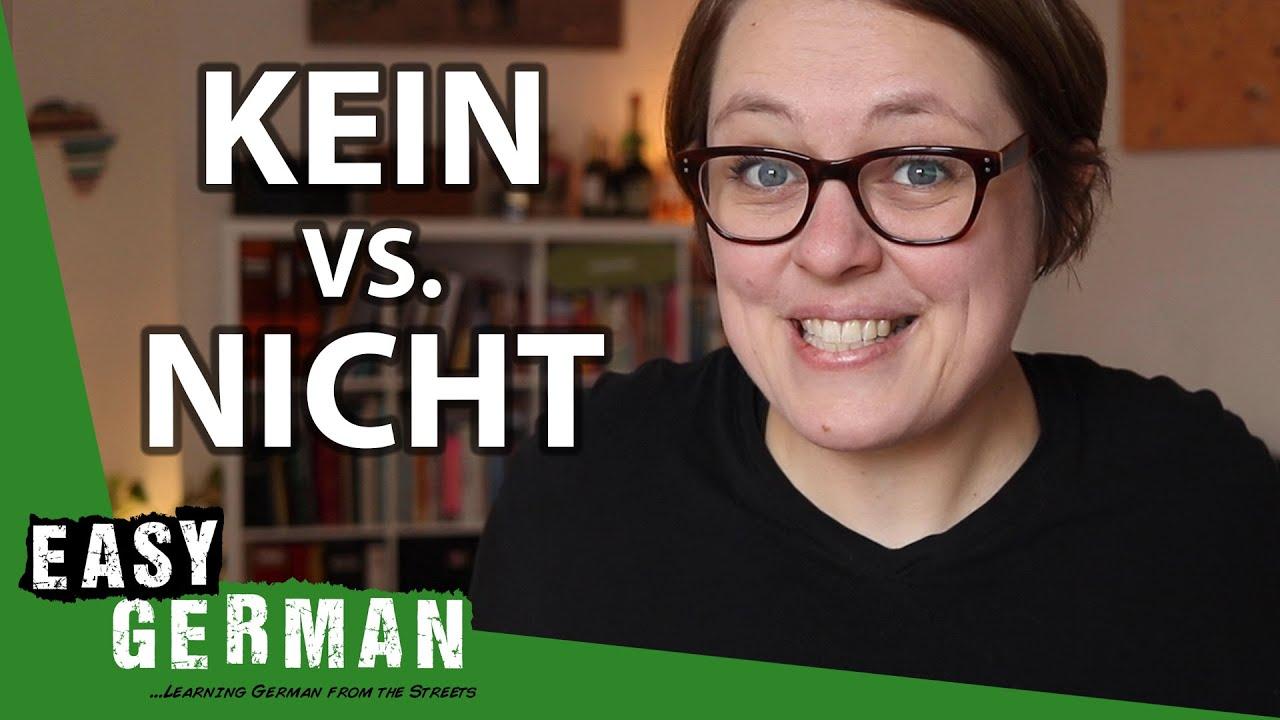 Download Kein vs. Nicht   Easy German 341