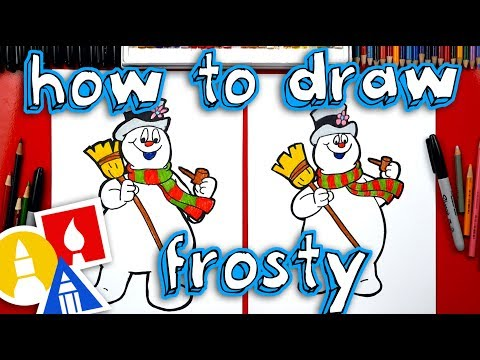 How To Draw Frosty The Snowman