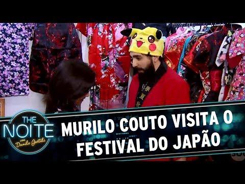 Murilo Couto visita o Festival do Japão   The Noite (26/07/17)