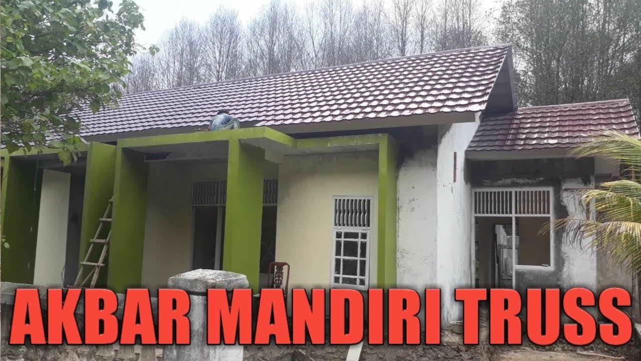 Olx Baja Ringan Lampung Pemasangan Atap Genteng Polos 2 Youtube