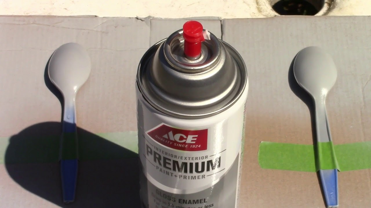 Testing Ace Spray Paint And Primer