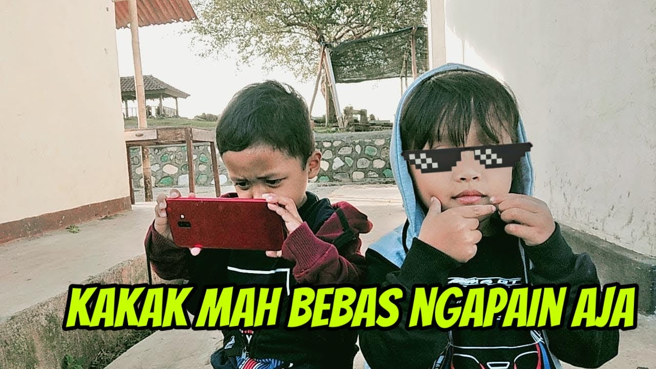 AZAM JUNIOR-KAKAK MAH BEBAS || ADEK GAK BOLEH PEGANG APA APA (Fahmi Fahri)