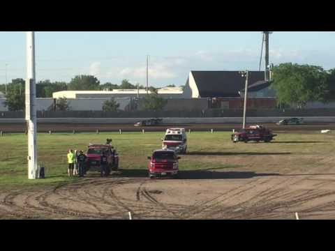Rob Odegard 6/4/16 Dakota State Fair Speedway Huron SD. Wissota Challenge Series