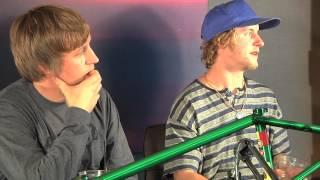 Grant Smith & Tony Malouf of BSD BMX @ Interbike 2012