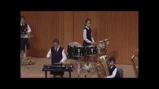 第2回全日本小学生金管バンド選手権 鹿児島市立吉野小学校金管バンド 超絶!変拍子に挑戦!