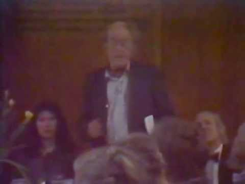 John Seymour: Inaugural Meeting of the Academic Inn (Part 1 of 4)