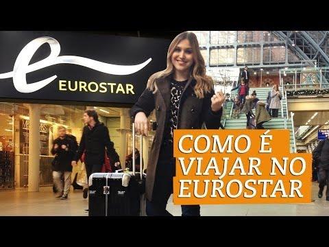 Como é viajar no Eurostar - Londres a Paris - Chata de Galocha
