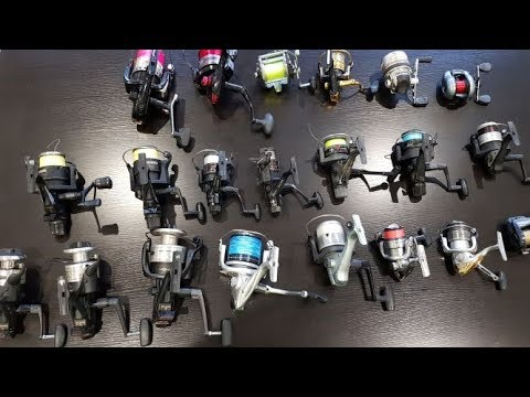 My Fishing Reel Collection 2019