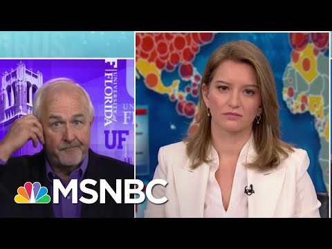 Former FEMA Administrator Cuts Off Coronavirus Debate On Live TV | Katy Tur | MSNBC