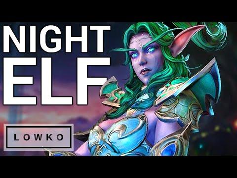 Warcraft 3 Reforged: Night Elf Gameplay!