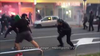 Video Slovenia: NK Maribor hools vs. cops before the game with Spartak Moscow 13.09.2017 download MP3, 3GP, MP4, WEBM, AVI, FLV November 2017