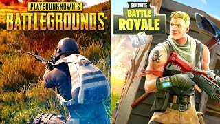 PUBG VS FORTNITE BATTLE ROYALE! - Which is the Best Game?