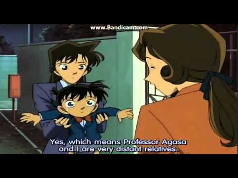 Detective Conan - Ran almost found out Conans true identity.